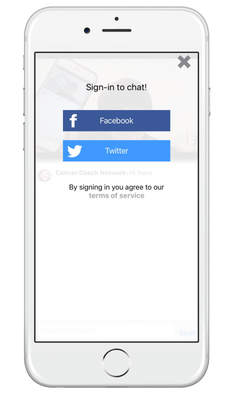 How to live stream with Huzza - on mobile you need to sign in with either Facebook or Twitter as your identity