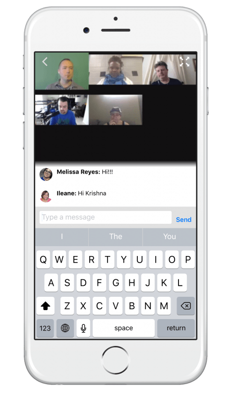 How to live stream with Huzza - watching and commenting on the iOS app