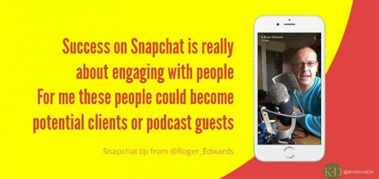 How your small service based business could use Snapchat for marketing