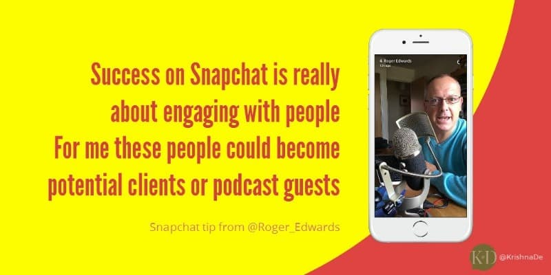 How to use Snapchat to help you market your small business