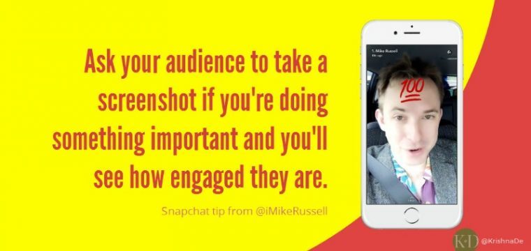 How to use Snapchat to promote and market your event or conference