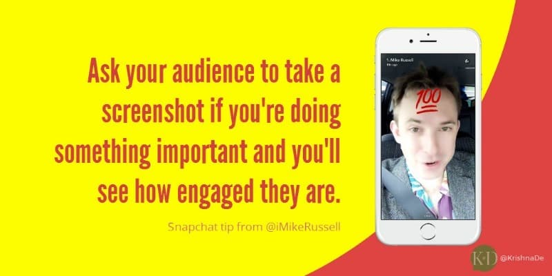 How to use Snapchat to promote your event or conference