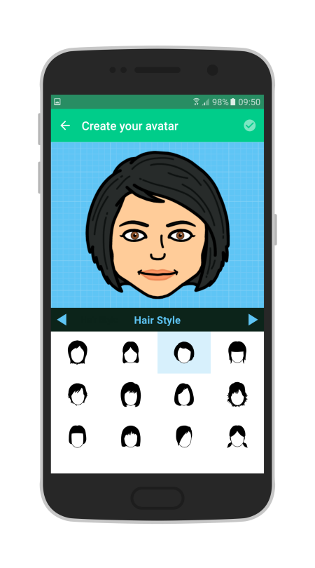 Create your personalised Bitmoji