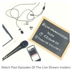 Watch past episodes of the Live Stream Insiders