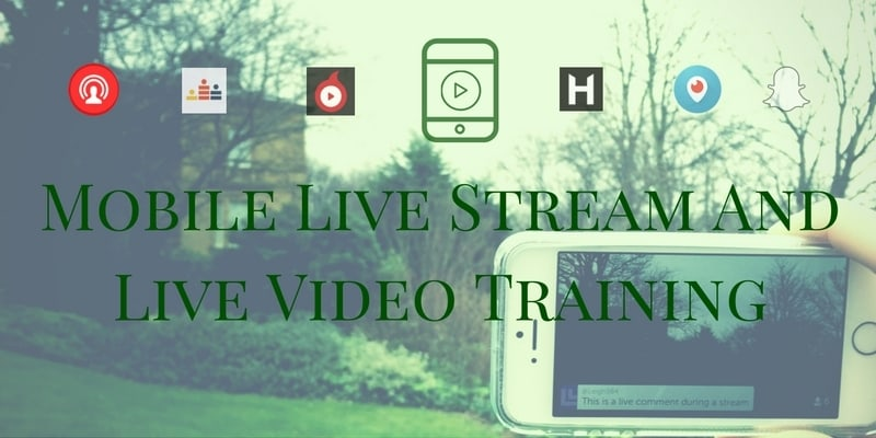 Training Programme On How To Attract More Leads And Sales With Mobile Live Video And Live Streaming