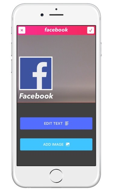 Search and add an image to add to your topic in the Top5 Live app