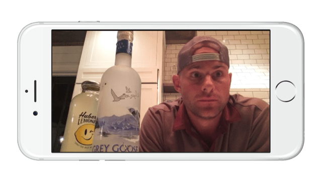Andy Roddick sponsored Periscope live stream demonstrates poor product placement