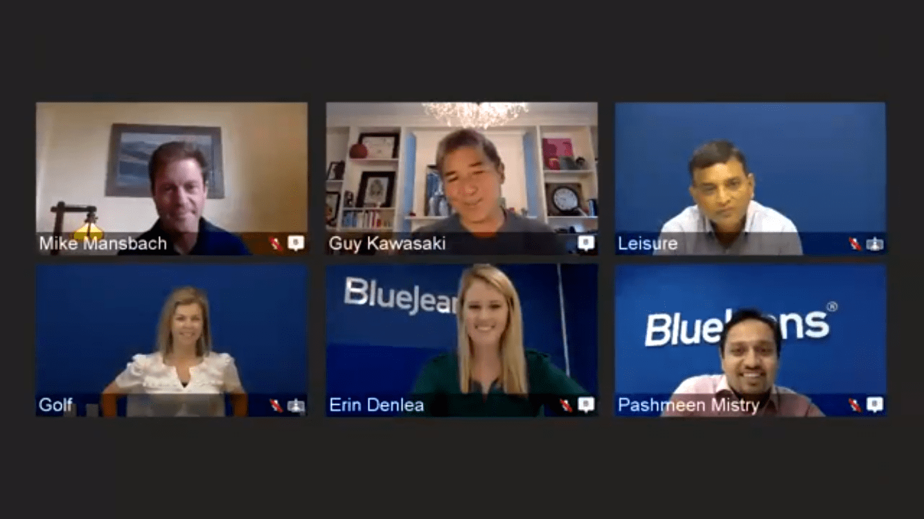 BlueJeans Primetime for Facebook Live enables up to 100 people on screen at the same time