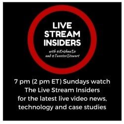 Subscribe to watch the next episode of the Live Stream Insiders