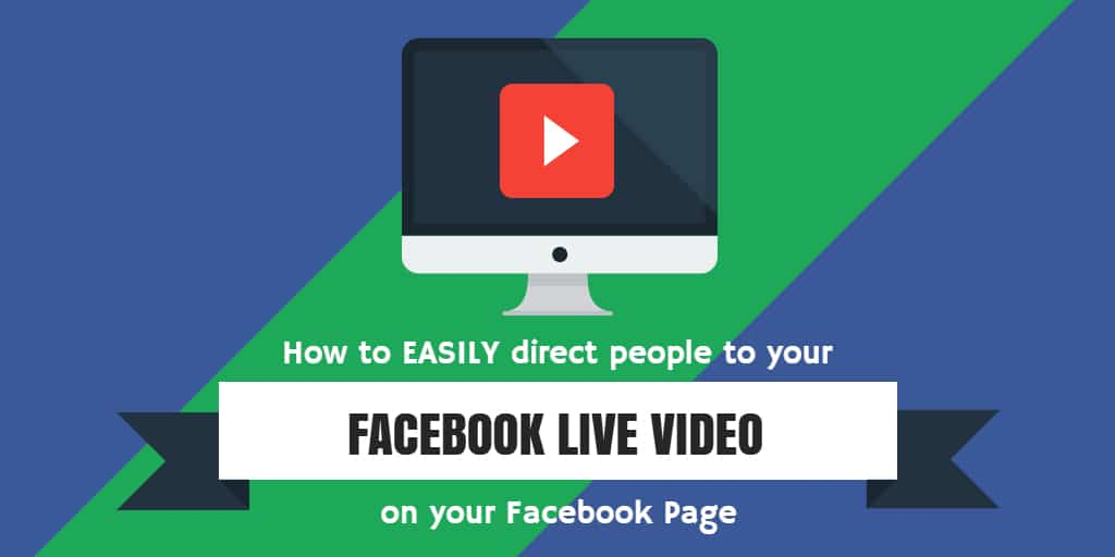 How to easily direct people to your Facebook Live video with a url