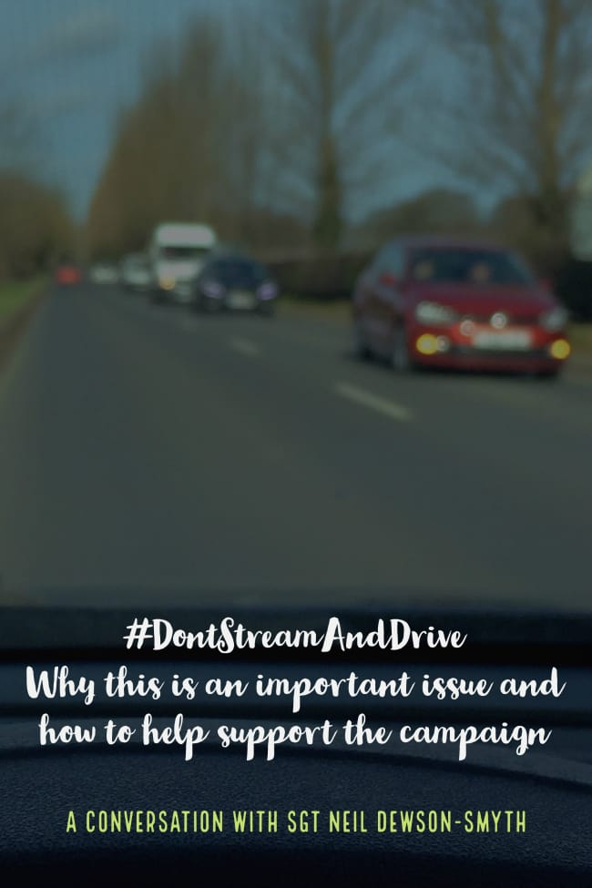 How to support the Don't Stream and Drive campaign to encourage awareness of the risks of distracted driving when using live video