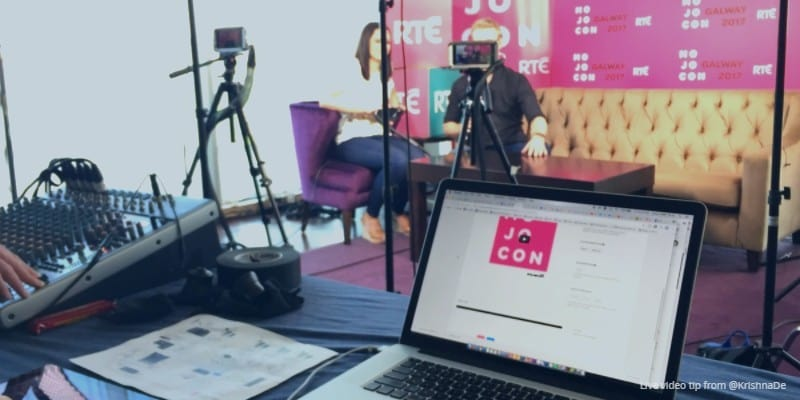 Review of MoJoCon 2017 products Teradeck live streaming the conference