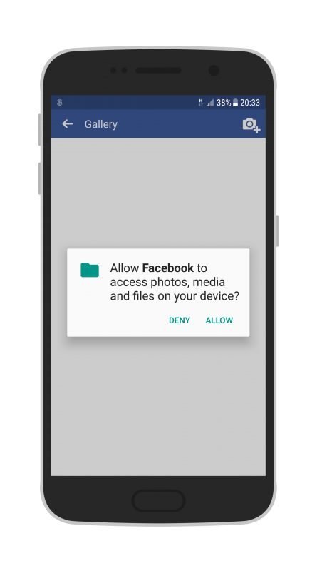 Facebook Live Audio on Android allow access to media on your phone