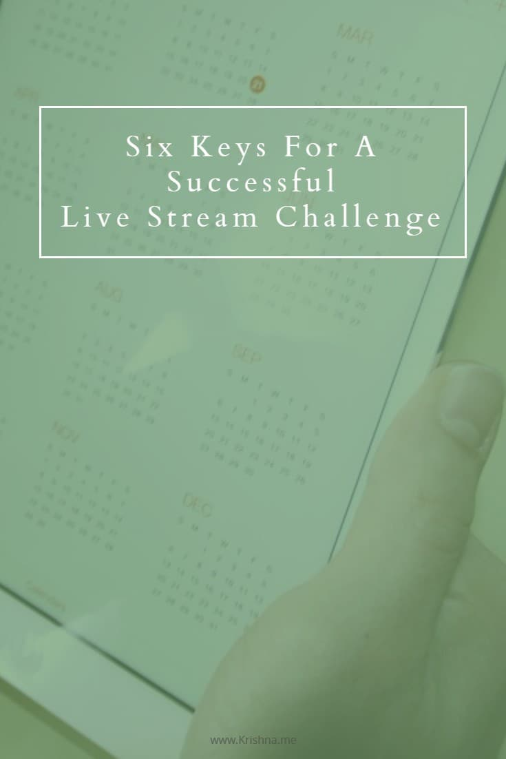 If you have decided to participate in a live stream challenge make sure you read these tips to optimise your success and get maximum impact for your input