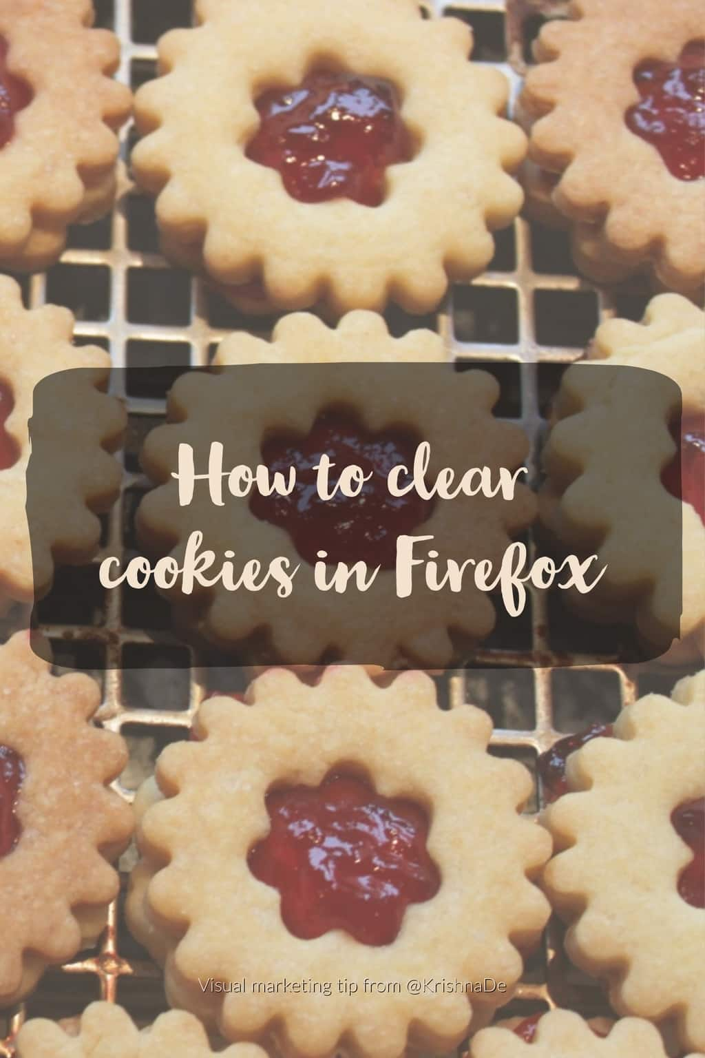 How to clear individual cookies in Firefox when you need to troubleshoot