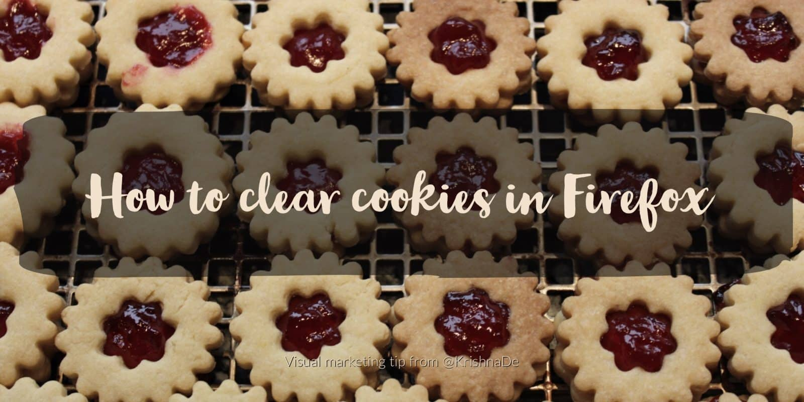 How to clear cookies in Firefox