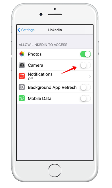 How to use LinkedIn native video on your iPhone - allow access to your camera