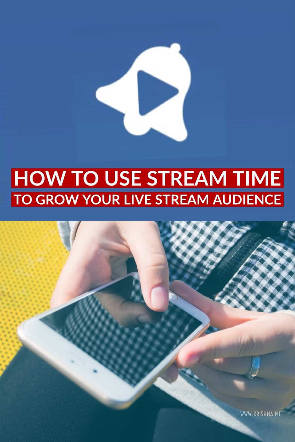 A tutorial on how to use Stream Time to grow your live stream audience and find live streams to watch