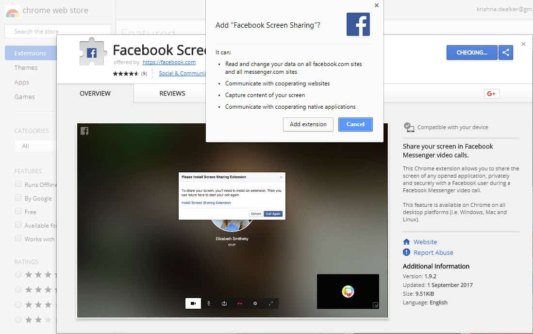Share your screen on Facebook Live using Chrome and your desktop