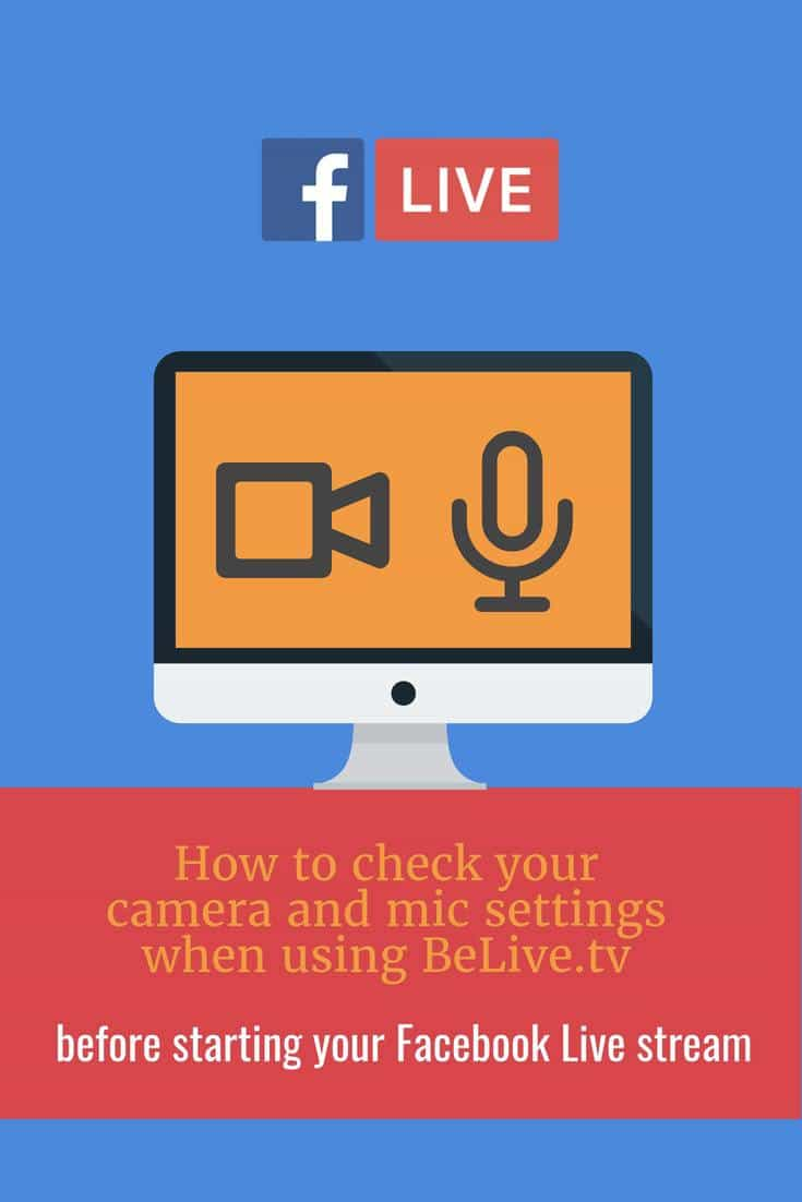BeLive.tv is a platform you can use for live streaming to Facebook Live. Before you start your live stream this is how to update the stream resolution.