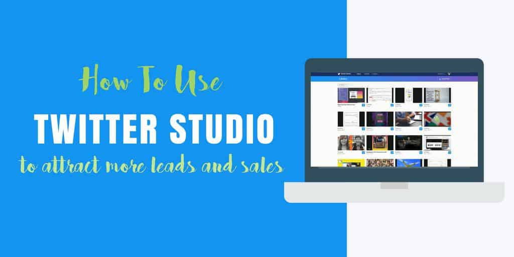Create shoppable videos using Twitter Studio and attract more leads and sales
