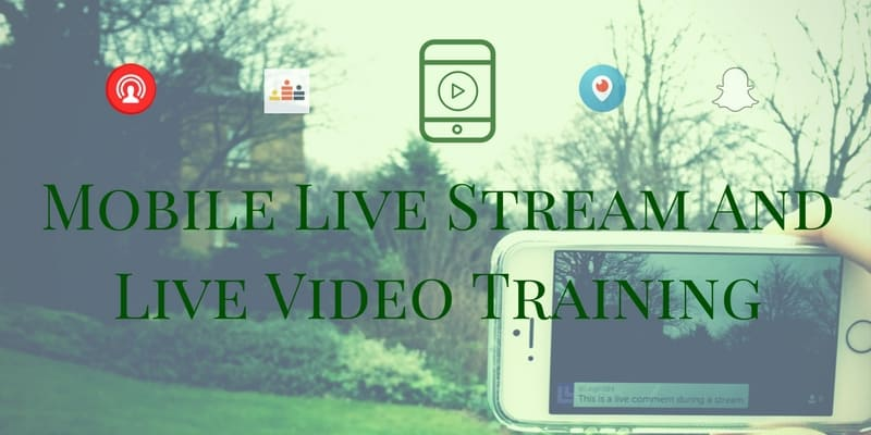 Live video and live stream training and education for business in UK and Ireland