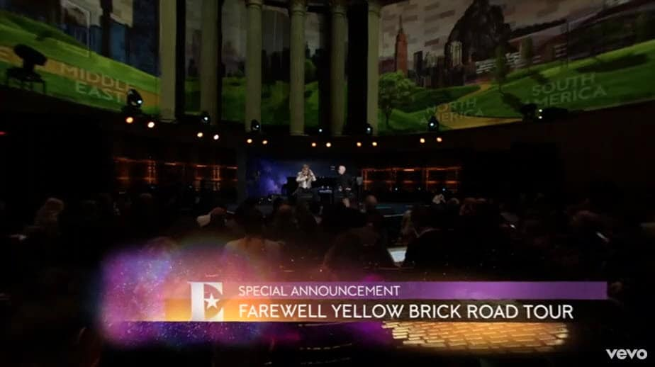Farewell Yellow Brick Road Elton John announces his final tour on YouTube in VR