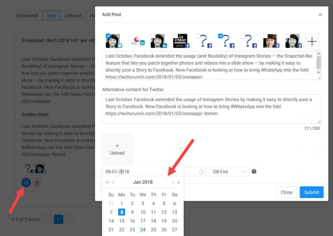 How to use Social Aider for social media content sharing 11
