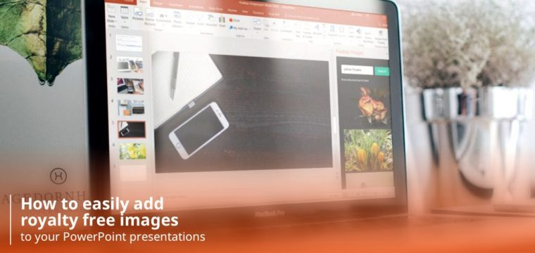 How to easily add royalty free images into your PowerPoint presentations
