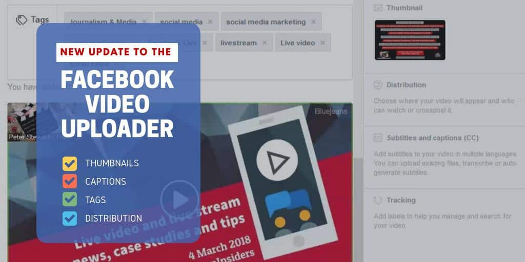 Learn how to use the new Facebook Video Uploader to optimise your video marketing wth this tutorial