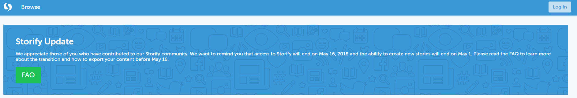 How to import your curations from Storify to Wakelet