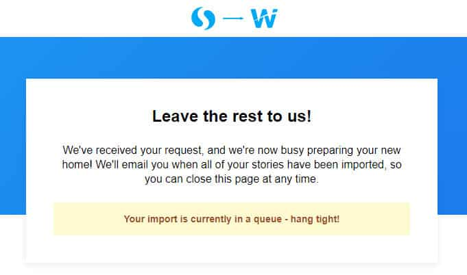 How to import your curations from Storify to Wakelet 08