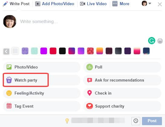 How to host a Facebook Watch Party for your Facebook Group members 09