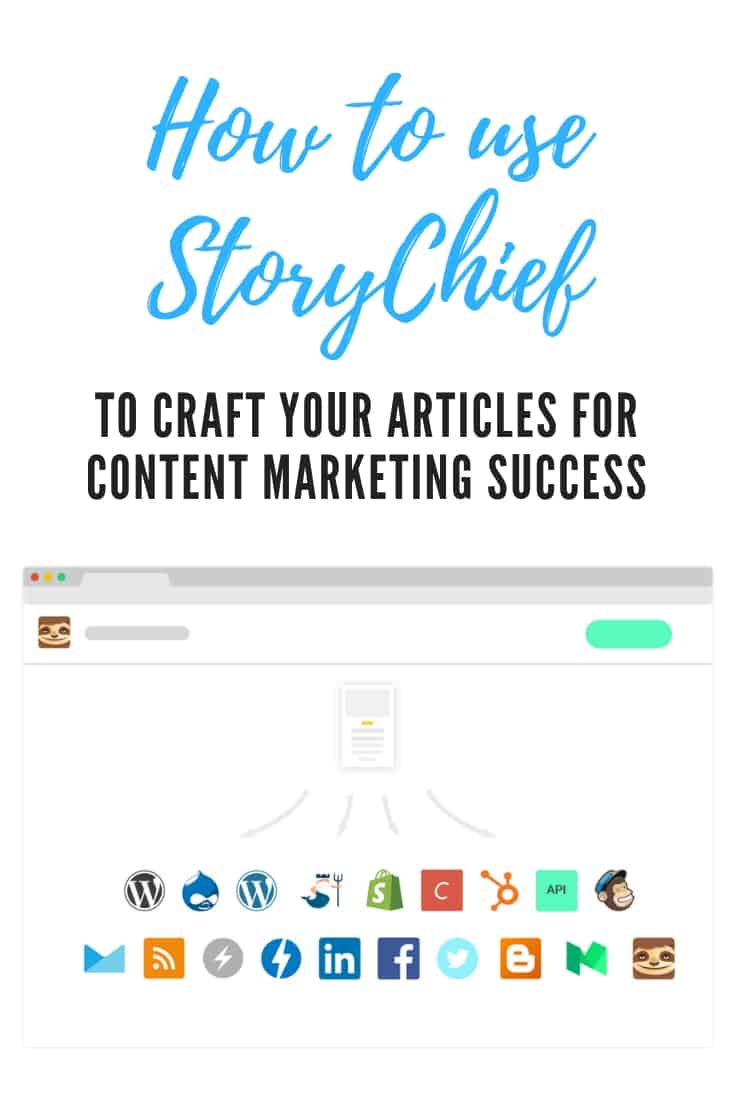 How to use StoryChief to craft your articles for content marketing success and discover how to access a discount for lifetime access for only $49 https://www.krishna.me/StoryChief #ad #contentmarketing #blogging #influencermarketing