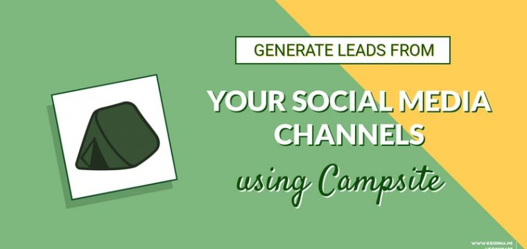 How to attract more leads and sales from your social media channels with Campsite