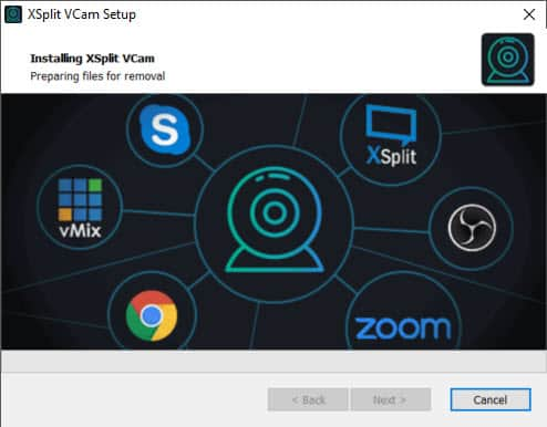 How to use Xsplit vCam to change your background in a live stream without a green screen