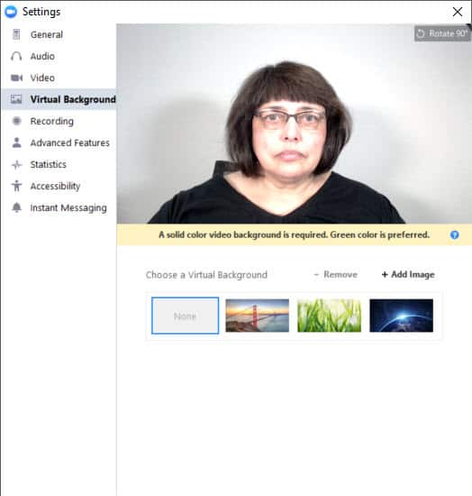 How to use a virtual background in your Zoom meeting