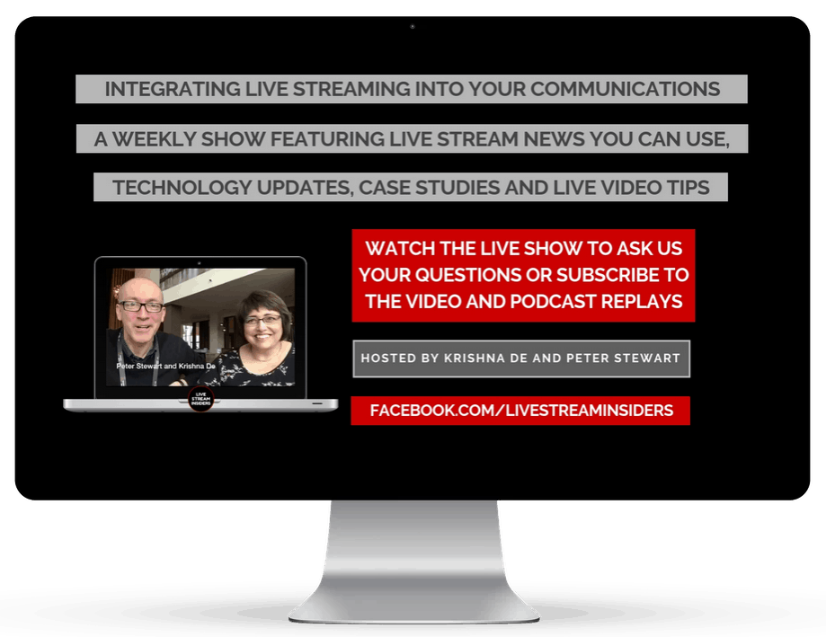 Watch the Live Stream Insiders Show or access the video or audio podcast replay