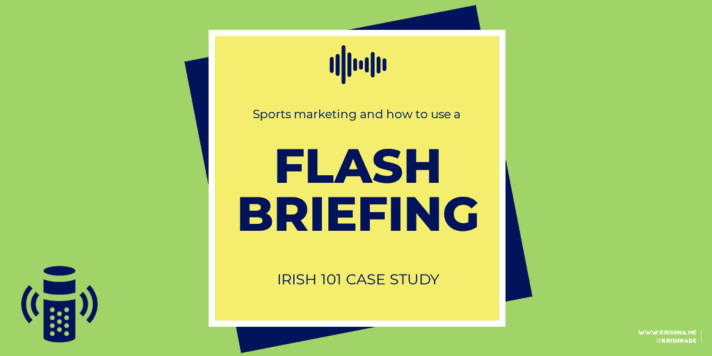 Inside Voice Sports Marketing Flash Briefing Case Study